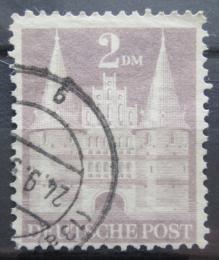 Poštovní známka Nìmecko 1948 Holstentor v Lübecku Mi# 99