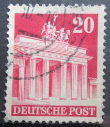 Poštovní známka Nìmecko 1948 Brandenburská brána v Berlínì Mi# 85