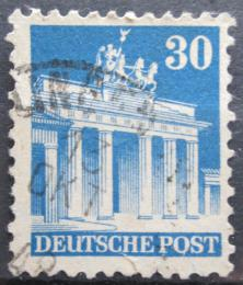 Poštovní známka Nìmecko 1948 Brandenburská brána v Berlínì Mi# 89