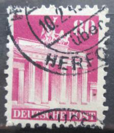 Poštovní známka Nìmecko 1948 Brandenburská brána v Berlínì Mi# 94