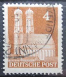 Poštovní známka Nìmecko 1948 Frauenkirche v Mnichovì Mi# 74