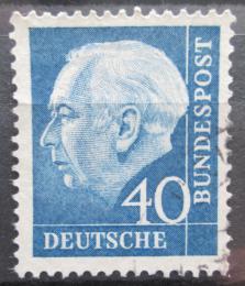 Poštovní známka Nìmecko 1956 Prezident Heuss Mi# 260 x