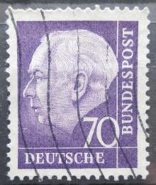 Poštovní známka Nìmecko 1957 Prezident Heuss Mi# 263 x