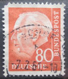 Poštovní známka Nìmecko 1957 Prezident Heuss Mi# 264 x