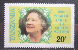 Poštovní známka Tanzánie 1985 Královna Matka Mi# 264
