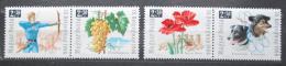 Poštovní známky Maïarsko 1966 Den známek Mi# 2271-74