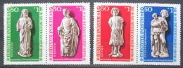 Poštovní známky Maïarsko 1976 Gotické sochy Mi# 3136-39
