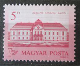 Poštovní známka Maïarsko 1986 Zámek rodiny Széchenyi Mi# 3857