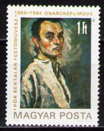 Poštovní známka Maïarsko 1980 Bertalan Pór, malíø Mi# 3450