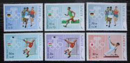Poštovní známky Adžmán 1969 Letní olympijské hry Mi# 570-75 Kat 14€