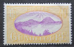 Poštovní známka Guadeloupe 1928 Souostroví Iles des Saintes Mi# 106
