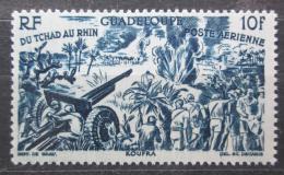 Poštovní známka Guadeloupe 1946 Od Èadu k Rýnu Mi# 209