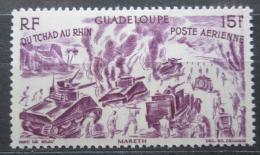 Poštovní známka Guadeloupe 1946 Od Èadu k Rýnu Mi# 210