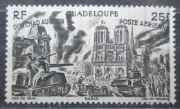 Poštovní známka Guadeloupe 1946 Od Èadu k Rýnu Mi# 212