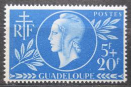 Poštovní známka Guadeloupe 1944 Èervený køíž Mi# 183