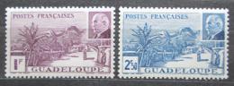 Poštovní známky Guadeloupe 1941 Maršál Philippe Pétain Mi# 166-67