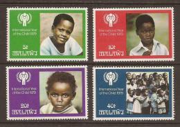 Poštovní známky Malawi 1979 Mezinárodní rok dìtí Mi# 328-31