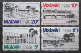 Poštovní známky Malawi 1980 Výstava LONDON Mi# 344-47
