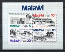 Poštovní známky Malawi 1980 Výstava LONDON Mi# Block 58