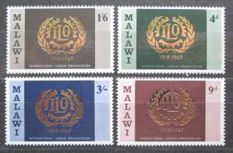 Poštovní známky Malawi 1969 ILO, 50. výroèí Mi# 106-09
