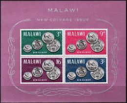 Poštovní známky Malawi 1965 Mince Mi# Block 2