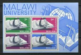 Poštovní známky Malawi 1965 Založení univerzity Mi# Block 4 Kat 9€