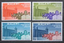 Poštovní známky Malawi 1965 Povstání roku 1915, 50. výroèí Mi# 29-32