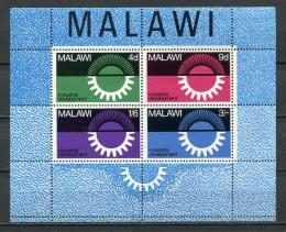 Poštovní známky Malawi 1967 Prùmyslový rozvoj Mi# Block 8
