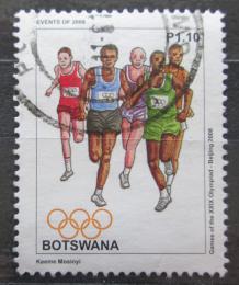 Poštovní známka Botswana 2008 LOH Peking, bìh Mi# 883
