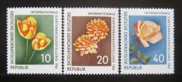 Poštovní známky DDR 1961 Kvìtiny Mi# 854-56 Kat 12€
