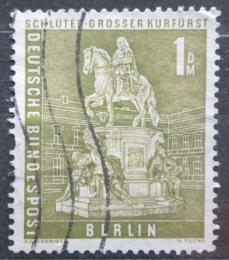 Poštovní známka Západní Berlín 1956 Socha Fridricha Viléma Mi# 153