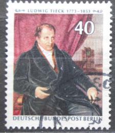 Poštovní známka Západní Berlín 1973 Ludwig Tieck, básník Mi# 452