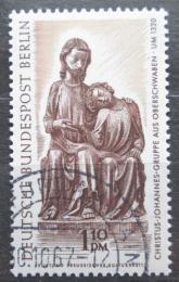 Poštovní známka Západní Berlín 1967 Døevìná socha Mi# 308