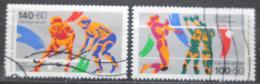 Poštovní známky Západní Berlín 1989 Sport Mi# 836-37 Kat 7.50€