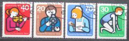 Poštovní známky Západní Berlín 1974 Dìtské zájmy Mi# 468-71 Kat 4€