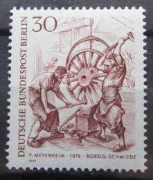 Poštovní známka Západní Berlín 1969 Kováøi Mi# 335
