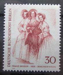 Poštovní známka Západní Berlín 1969 Berlíòanky Mi# 336