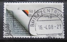 Poštovní známka Nìmecko 2008 Federální kartel Mi# 2655