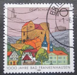 Poštovní známka Nìmecko 1998 Bad Frankenhausen Mi# 1978