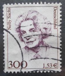 Poštovní známka Nìmecko 2001 Nelly Sachs, spisovatelka Mi# 2159