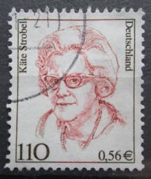 Poštovní známka Nìmecko 2000 Käte Strobel, politièka Mi# 2150