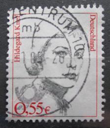 Poštovní známka Nìmecko 2002 Hildegard Knef , umìlkynì Mi# 2296