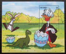 Poštovní známka Gambie 1994 Disney postavièky Mi# Block 223 Kat 8€