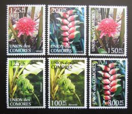 Poštovní známky Komory 2011 Rostliny Mi# 3079-84