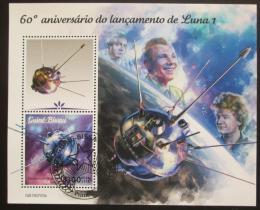 Poštovní známka Guinea-Bissau 2019 Gagarin, Tìreškovová Mi# N/N