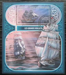 Poštovní známka Togo 2017 Plachetnice Mi# Block 1482 Kat 13€