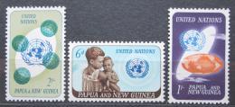 Poštovní známky Papua Nová Guinea 1965 OSN, 20. výroèí Mi# 80-82