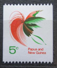Poštovní známka Papua Nová Guinea 1969 Rajka volavá Mi# 166
