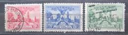 Poštovní známky Austrálie 1936 Adelaide Mi# 134-36 Kat 10€