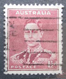Poštovní známka Austrálie 1938 Král Jiøí VI. Mi# 140 A